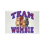 Team Wombie Rectangle Magnet (10 pack)