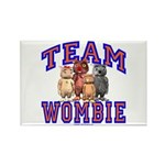 Team Wombie Rectangle Magnet