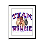 Team Wombie Framed Panel Print