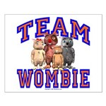Team Wombie Small Poster