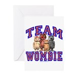 Team Wombie Greeting Cards (Pk of 20)