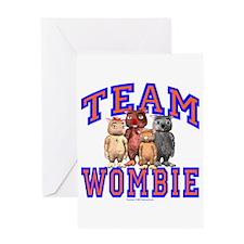 Team Wombie Greeting Card