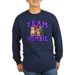 Team Wombie Long Sleeve Dark T-Shirt