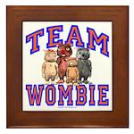 Team Wombie Framed Tile