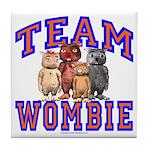 Team Wombie Tile Coaster