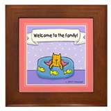 Welcome to the Family! Framed Tile