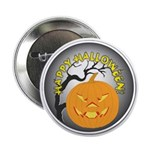 Happy Halloween Greetings Button