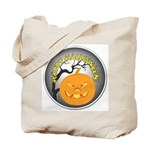 Happy Halloween Greetings Tote Bag