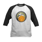 Happy Halloween Greetings Kids Baseball Jersey