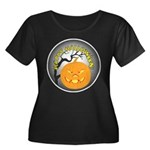 Happy Halloween Greetings (Front) Women's Plus Siz