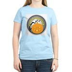 Happy Halloween Greetings Women's Light T-Shirt