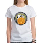 Happy Halloween Greetings (Front) Women's T-Shirt