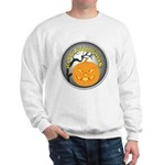 Happy Halloween Greetings (Front) Sweatshirt