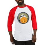 Happy Halloween Greetings Baseball Jersey