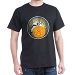 Happy Halloween Greetings (Front) Dark T-Shirt