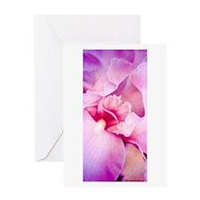 Iris Whisper Single Greeting Card