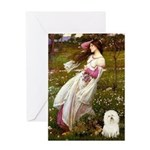 Windflowers & Bolognese Greeting Card