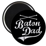 "Baton Dad 2.25"" Magnet (10 pack)"