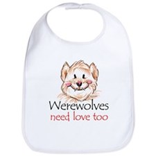 werewolves need love Bib