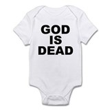 GOD IS DEAD Onesie