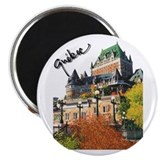 Frontenac Castle Quebec Signa Magnet