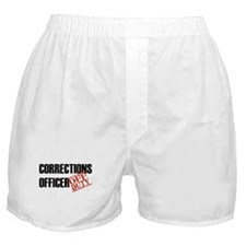 Off Duty Corrections Officer Boxer Shorts