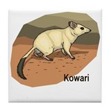 Kowari Tile Coaster