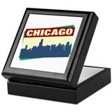 Chicago Keepsake Box