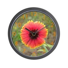 Indian Blanket Wall Clock