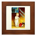 Halloween Scary Stories Framed Tile
