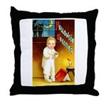 Halloween Scary Stories Throw Pillow