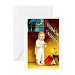 Halloween Scary Stories Greeting Card