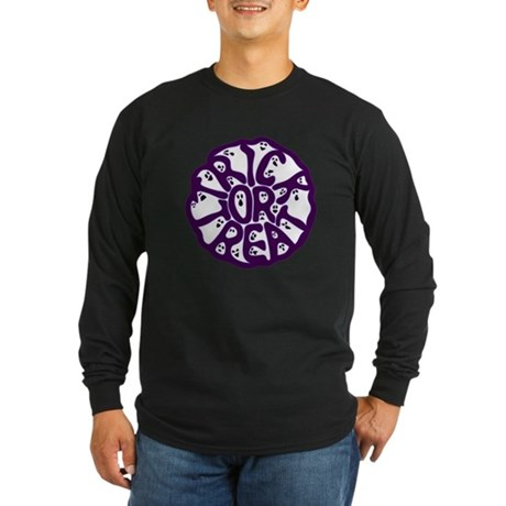 A Groan of Ghosts Long Sleeve Dark T-Shirt