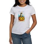 Halloween Owl & PUmpkin (Front) Women's T-Shirt