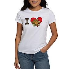 I heart turtles Tee