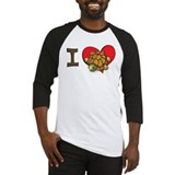 I heart turtles Baseball Jersey