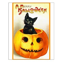 Jackolantern Black Cat Posters