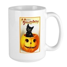 Jackolantern Black Cat Mug