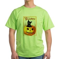 Jackolantern Black Cat T-Shirt