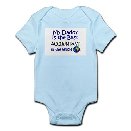 Best Accountant In The World (Daddy) Infant Bodysu