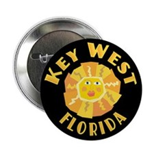Key West Sun - Button
