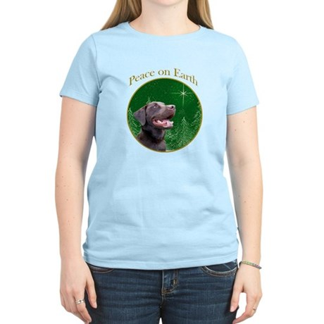 Chocolate Lab Peace Women's Light T-Shirt