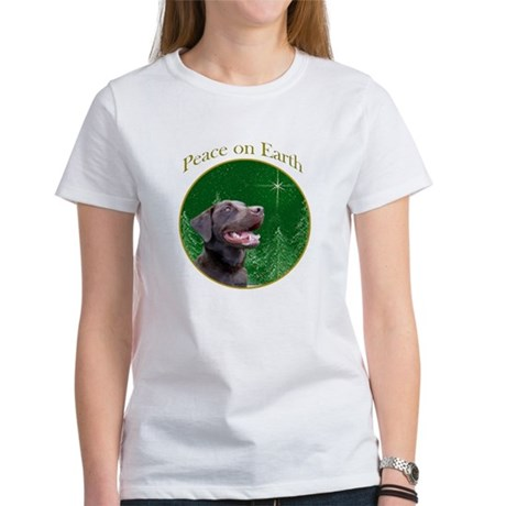 Chocolate Lab Peace Women's T-Shirt