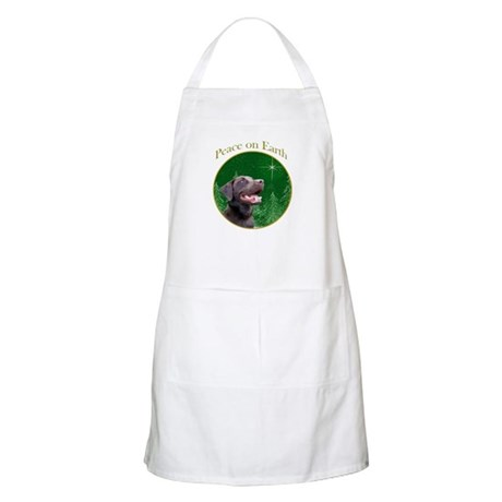 Chocolate Lab Peace BBQ Apron