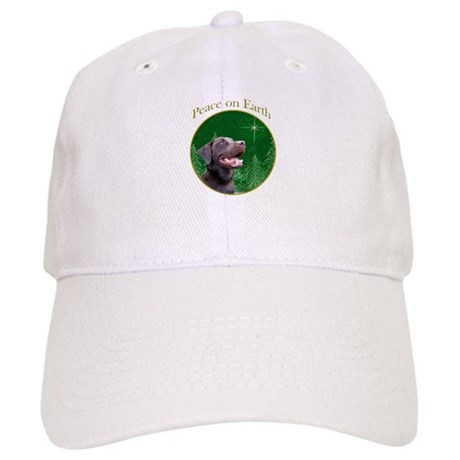 Chocolate Lab Peace Cap