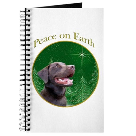 Chocolate Lab Peace Journal