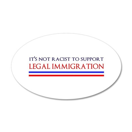 Not Racist Wall Decal