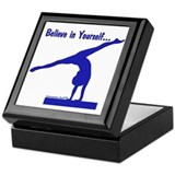 Gymnastics Keepsake Box - BelieveBlue