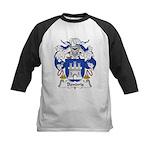 Bendris Family Crest  Kids Baseball Jersey