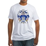 Bendris Family Crest  Fitted T-Shirt